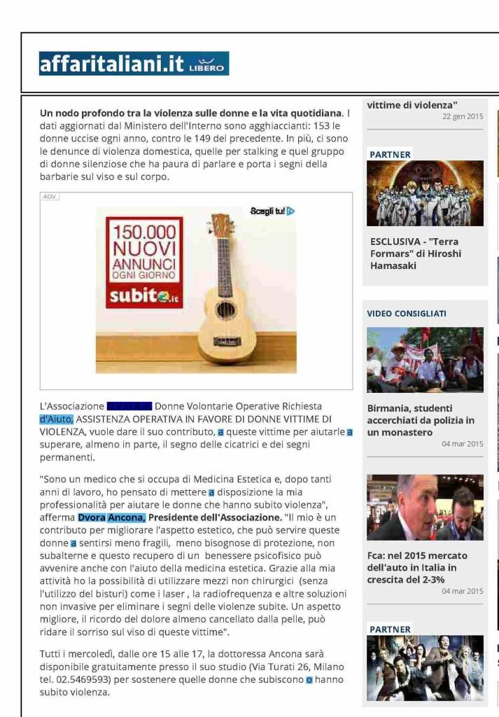 articolo su affaritaliani.it